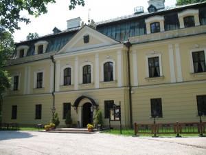 Zbiorcza instalacja telewizyjna w pałacu w Rybnej
